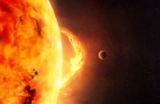 explozie solară, soare