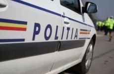poliție, mașină poliție, trafic oprit