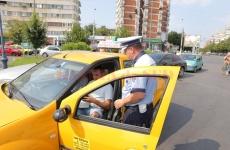 polițist amendă taximetrist