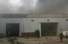 incendiu hală București