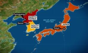 Coreea de Nord Japonia