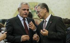 Dragnea ambasada China