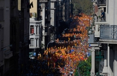 protest spania independenta catalonia