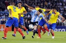 Ecuador Argentina Lionel Messi
