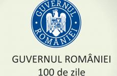 100 zile bilant guvern