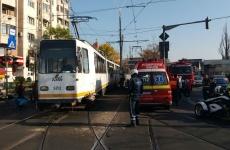 tramvaie accident București