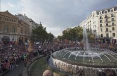 manifestatie Barcelona
