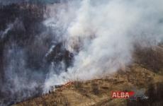 incendiu vegetație Apuseni