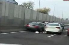 accident pasaj Baneasa