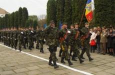 ceremonie Ziua Armatei, soldați