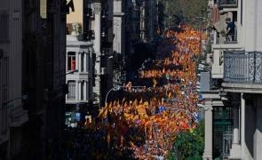 protest spania independenta catalonia