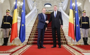 Klaus Iohannis Donald Tusk Cotroceni