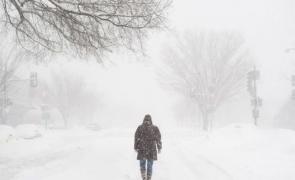 iarnă, frig, viscol, zăpadă