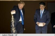 Donald Trump Shizno Abe crapi