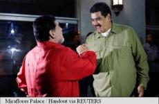 Nicolas Maduro Diego Maradona