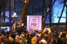 sediul psd proteste