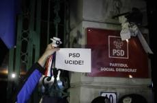 proteste psd sediu