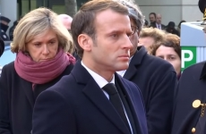 macron ceremonie victime paris