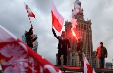demonstratii in Polonia nationalisti extrema dreapta