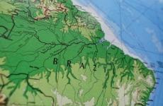 Brazilia hartă