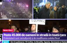 Dacian Ciolos proteste 26 nov 2