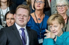 Andreas Hollstein Angela Merkel