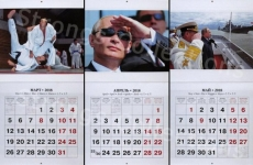 Vladimir Putin calendar 2
