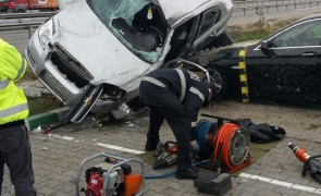 accident A1 benzinarie