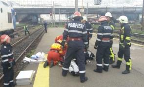 accident basarab barbat lovit de tren