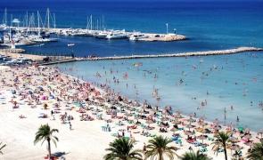 Palma de Mallorca plaja spania