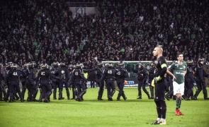 incidente Saint Etienne Franța suporteri