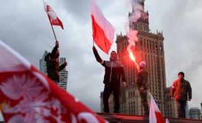 demonstratii in Polonia nationalisti extrema dreapta