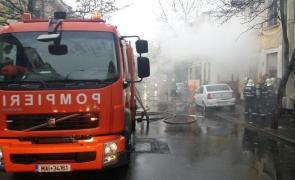 incendiu București