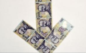 bani, scădere, indicator