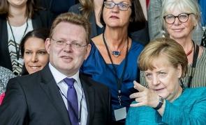 Andreas Hollstein Angela Merkel