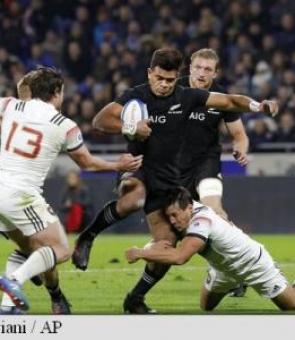 Noua Zeelandă Franța rugby