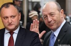 Igor Dodon Traian Basescu