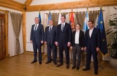 Mihai Tudose Alexis Tsipras Aleksandar Vucic Boiko Borisov
