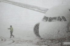 ninsoare, mare britanie, avion