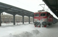 tren, CFR, zăpadă