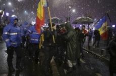incidente piata Victoriei proteste 17.12.2017
