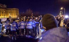 Inquam proteste palatul paralmentului jandarmi violente