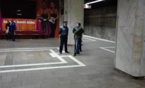 polițiști metrou