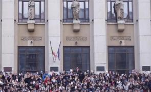 protest studenti facultatea de drept