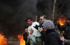 protest iran violente