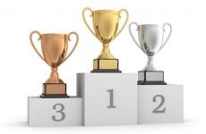 podium top