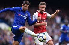 Chelsea Arsenal Morata