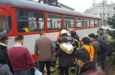 accident arad fetita tramvai
