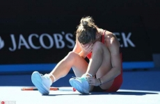 Simona Halep accidentare