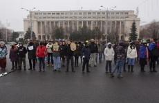 protest Piata Victoriei 21 ianuarie